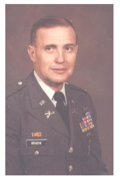 Colonel (Ret.) James W. Bradin