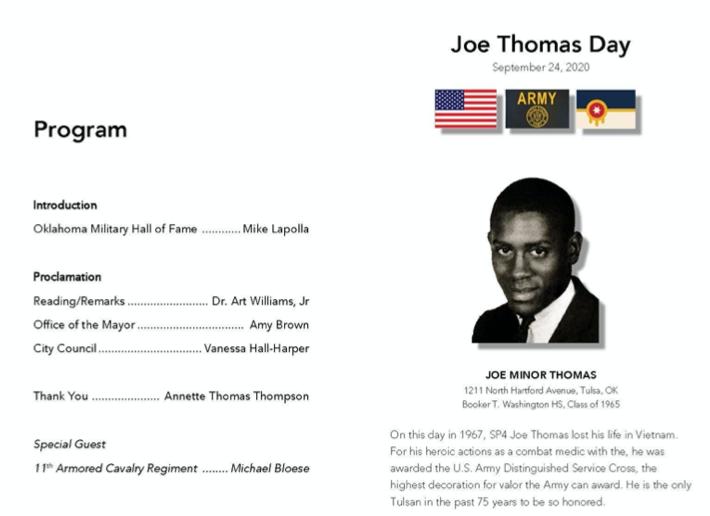 Specialist Joe Thomas